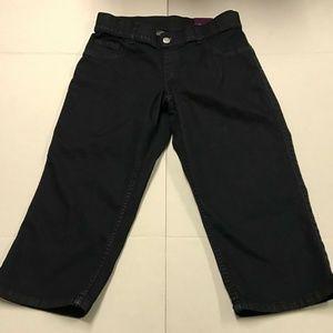 Lane Bryant Pants Jeans Capri Cropped Pull-on Pant